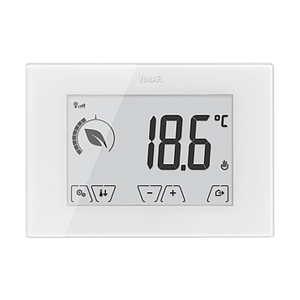 Surface GSM touch-thermostat 230V white