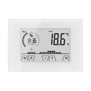 Surface WIFI touch-thermostat 230V white