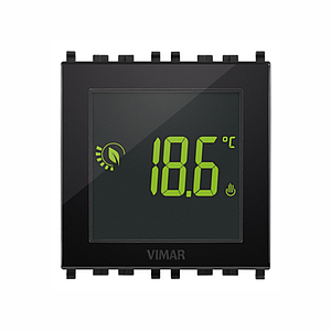 Surf.batt.-touch-thermostat RGB 120-230V antraciet