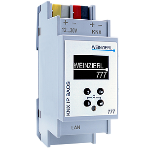 "KNX IP BAOS 777 ""Tunneling & Objectserver""+web"