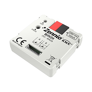 Binaire module - 2 binaire inputs / LED outputs