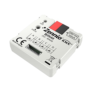 Binaire module - 4 binaire inputs / LED outputs
