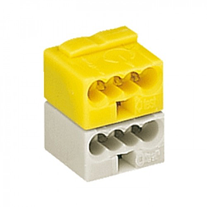 KNX Bus connector. WAGO 243-212 Yellow-White