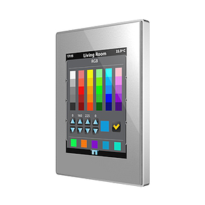 Touch Panel Z41 Pro aluminium frame - zilver