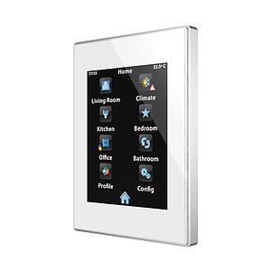 Touch Panel Z41 Pro aluminium frame (wit)