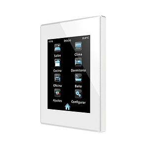 Touch Panel Z41 Pro plastic frame (wit)