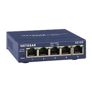 GetFace IP - Switch 5 ports unmanaged