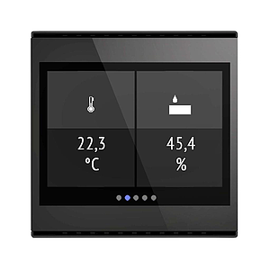 Cala Touch KNX TH, noir (3.0)