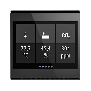 Cala Touch KNX AQS/TH, noir (3.0)