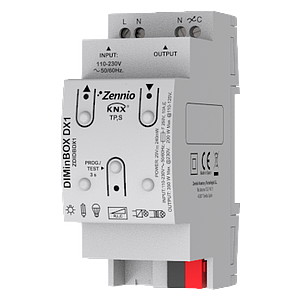 DIMinBOX DX1 dimmer (RLC, LED, CFL)