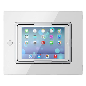"Viveroo Square LAN - iPad 9.7"" & iPad Air 2021 (Wit - Glas)"