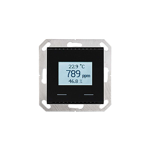 Elsner KNX VOC/TH-UP Touch (Zwart)