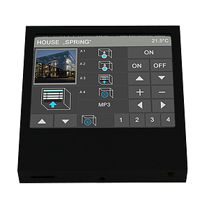 Arcus-EDS Touch_IT C3 SMART (Zwart aluminium)